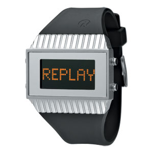 Replay Speed - Uhr  27 x 46 mm Schwartz/Grau RWRH5102AND