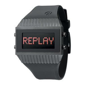 Replay Speed - Uhr 27 x 46 mm Schwarz RWRH7102NND