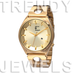 Replay Royal - Uhr 58 mm Gold RWRM3303FH