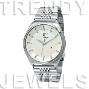 Replay Royal - Uhr 48 mm Silber/Weiss RWRM5306BH
