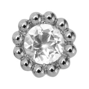 Endless Crystal Flower Silber Element 21353