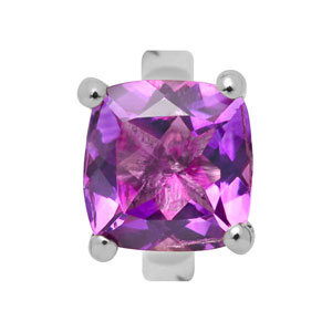 Endless Amethyst Lila Silber Element 21408