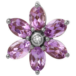 Endless Big Amethyst Flower 21800