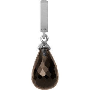 Endless Smokey Quartz Drop 31400