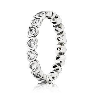 Pandora Ring Lots of Love CZ 190897CZ