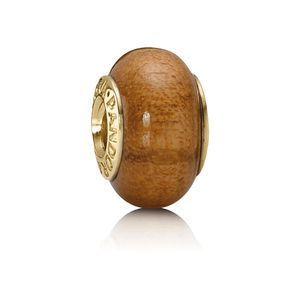 Pandora Holz Element Gold - Muiracatiara 750706
