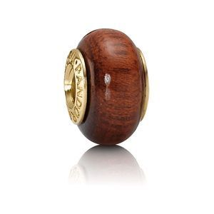 Pandora Holz Element Gold - Muirapiranga 750707